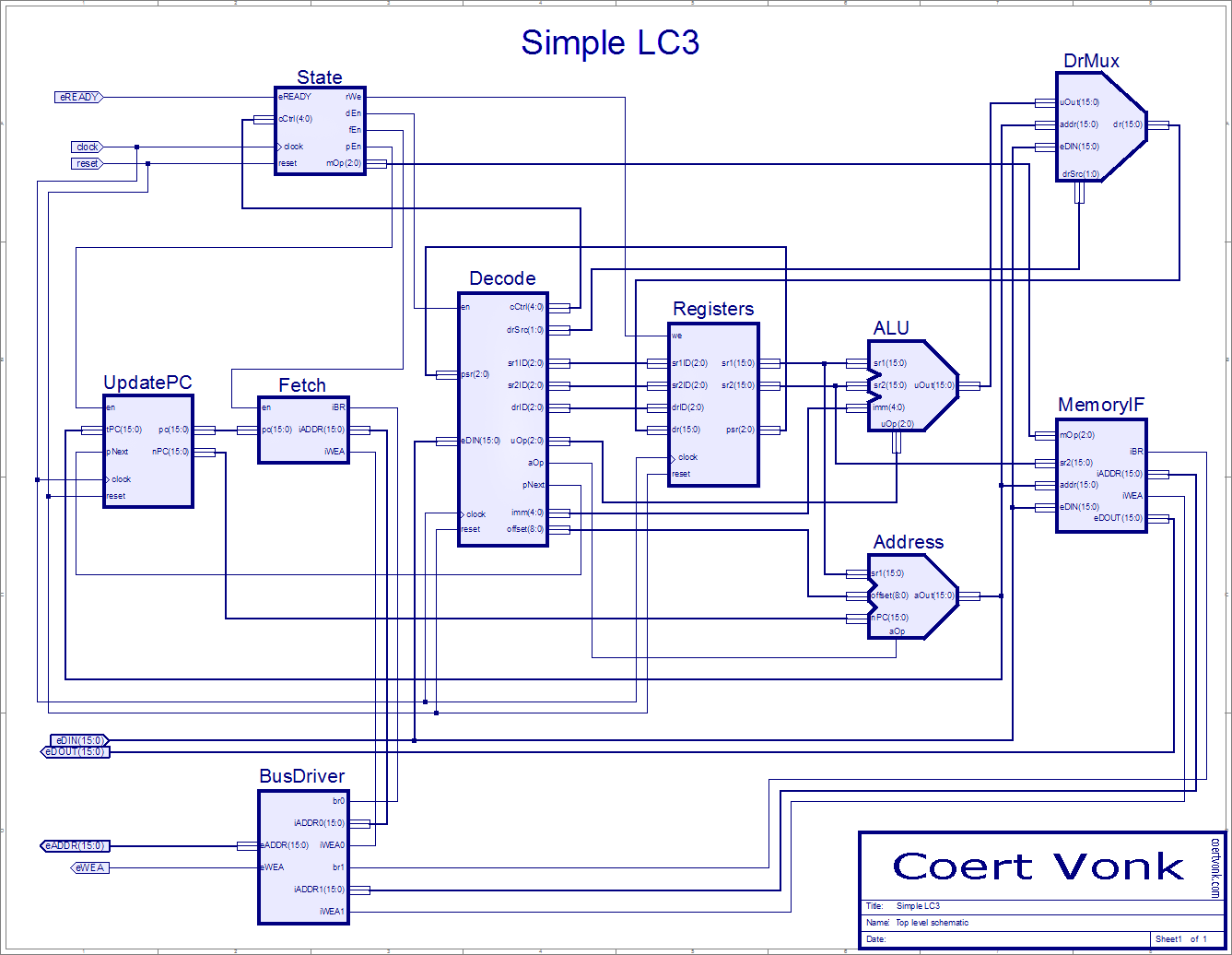 Lc3 Wiring Schematic Free Diagram For You Basic Hvac Diagrams Symbols Understand How Microprocessors Work By Building One From Simple Schematics